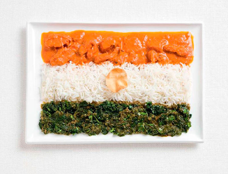 03-italy-flag-made-from-food-Basil-Pasta-Tomatoes-Currie-rice-pappadum-wafer