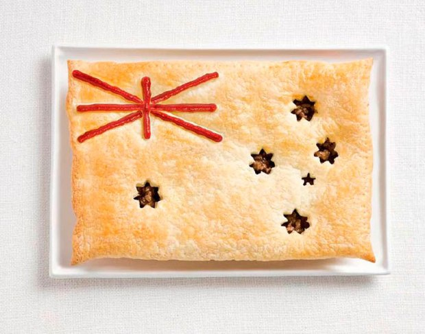08-australia-flag-made-from-food-Meat-pie-sauce