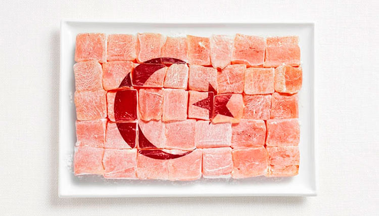 15-turkey-flag-made-from-food-Turkish-Delight_Lokum