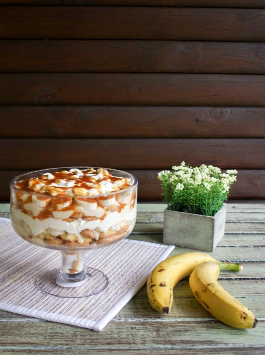 Receta: Copón de plátano y crema