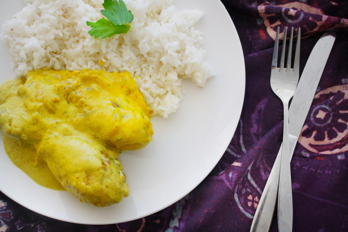Receta: Pollo al Curry